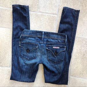 Hudson Flap Pocket Skinny Jeans 24